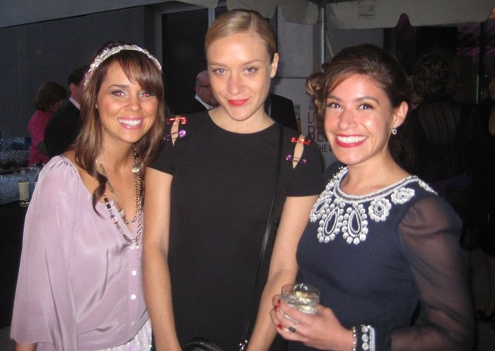 Chloe Sevigny attends the 2010 Dada Ball held atContemporary Art Museum St. Louislocated in St. Louis, Missouri