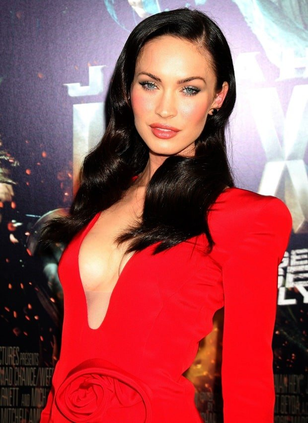 Megan Fox at the world premiere of 'Jonah Hex' held at ArcLight Cinerama Dome in Los Angeles on June 17, 2010