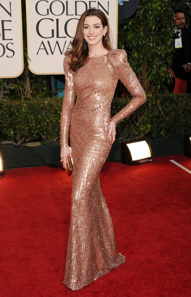 emma stone dress golden globes. And then there was Emma Stone.