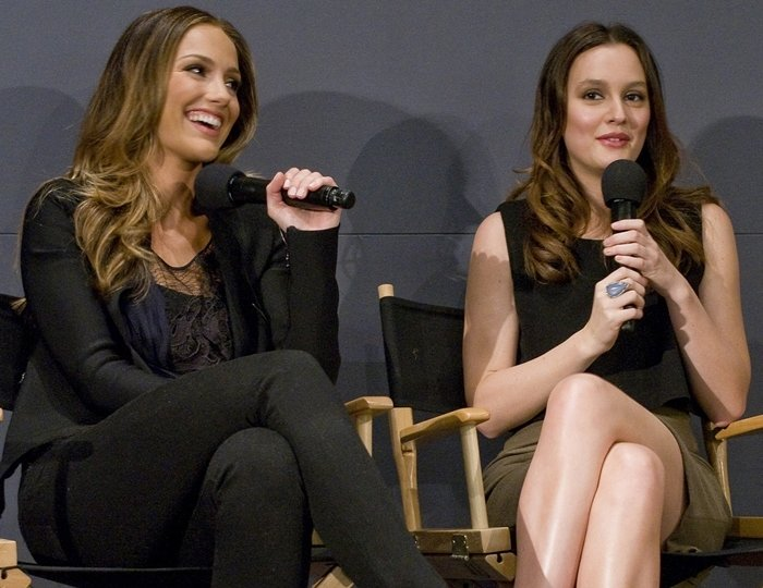 Minka Kelly and Leighton Meester are not related
