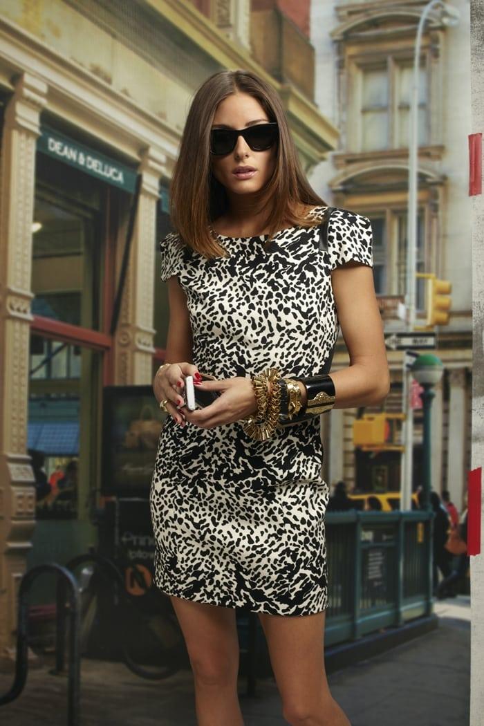 Olivia Palermo in Tibi's web ad campaign, February 2011