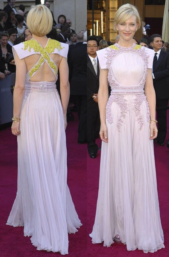 Actress Cate Blanchett arrives at the 83rd Annual Academy Awards