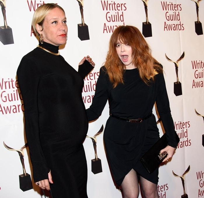 Chloe Sevigny and Natasha Lyonne attend the 72nd Writers Guild Awards