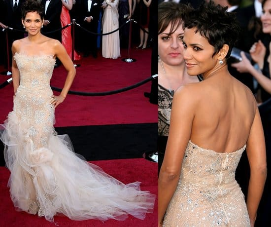 Actress Halle Berry arrives at the 83rd Annual Academy Awards