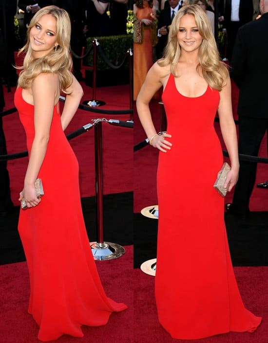 Actress Jennifer Lawrence arrives at the 83rd Annual Academy Awards