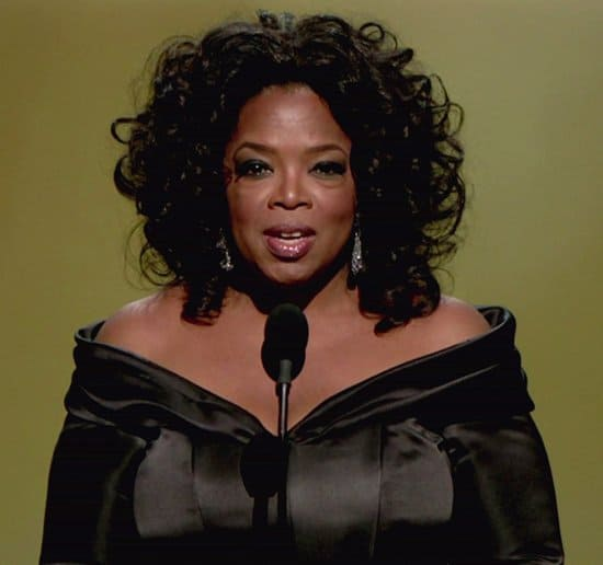 Oprah Winfrey at the 83rd Annual Academy Awards