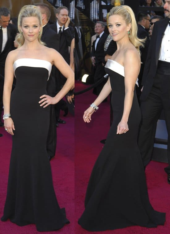Actress Reese Witherspoon arrives at the 83rd Annual Academy Awards