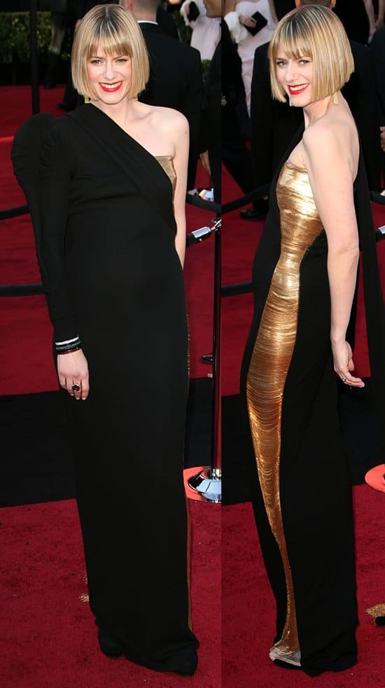 Sunrise Coigney arrives at the 83rd Annual Academy Awards