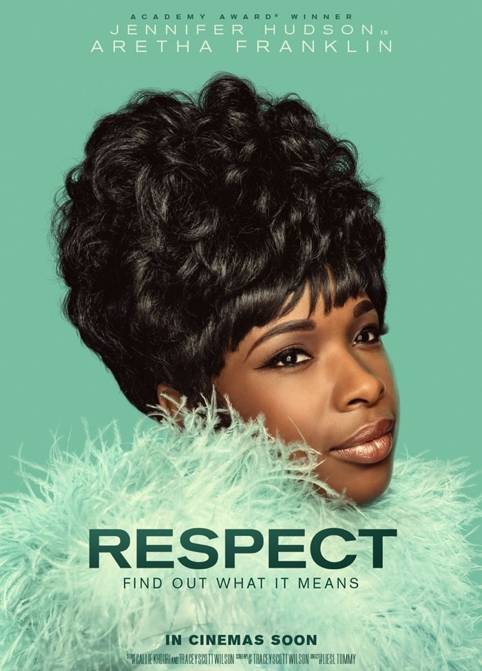 Jennifer Hudson stars in the leading role as singer Aretha Franklin in American biographical drama film Respect