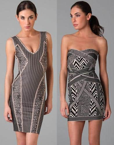 Sexy Herve Leger dresses