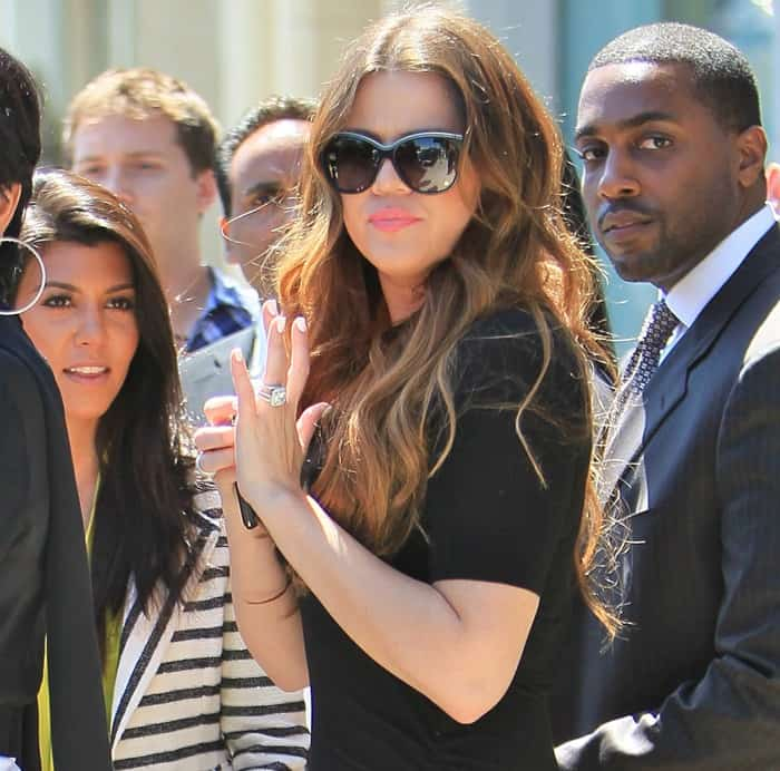 Khloe Kardashian Wedding Dress: Khloe Kardashian And Vanessa Hudgens Wear Ruched Maxi Dresses