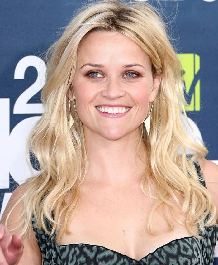 Reese Witherspoon attends the 2011 MTV Movie Awards held at Universal Studios' Gibson Amphitheatre in Universal City on June 5, 2011