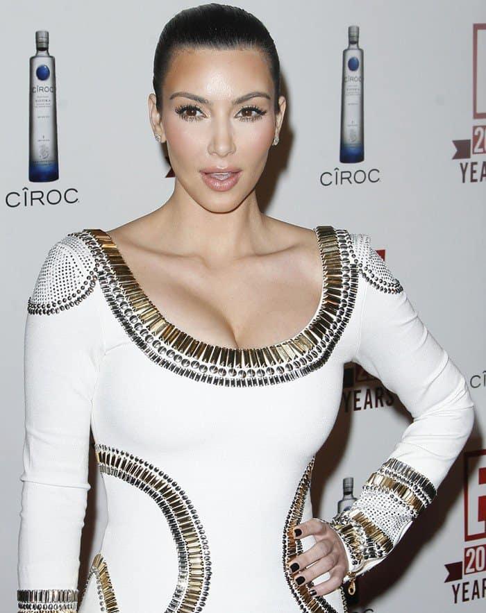 Kim Kardashian wearing aSass & Bide Higher Ground dress