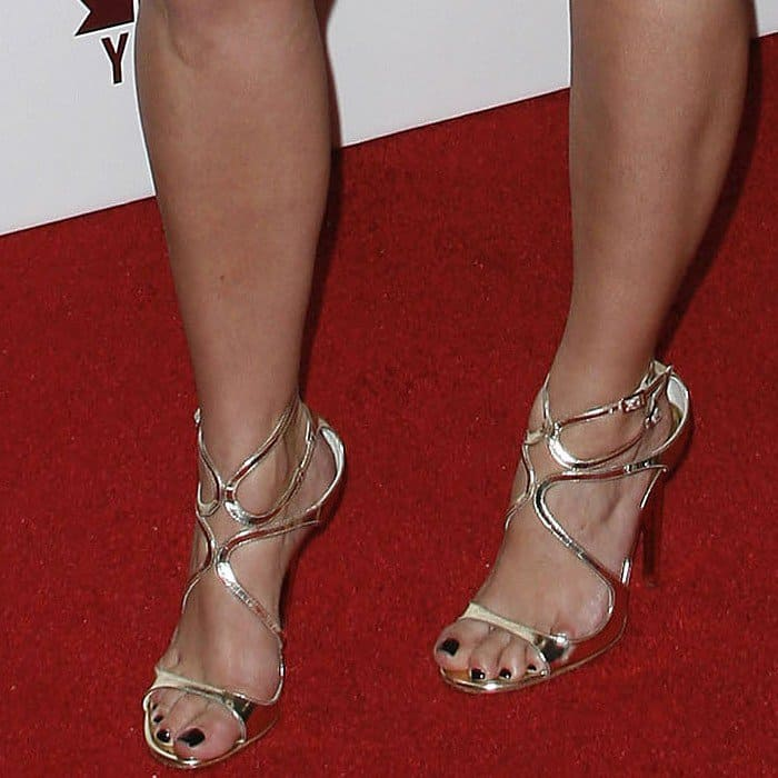 Kim Kardashian wearing Jimmy Choo 'Lance' heels