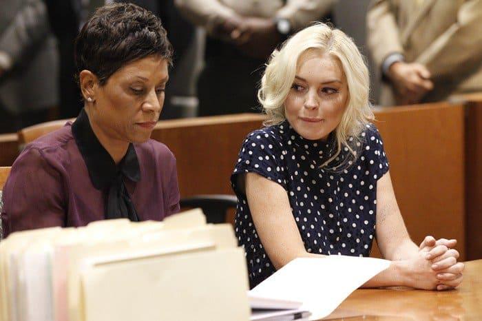 Lawyer Shawn Chapman Holley and Lindsay Lohan