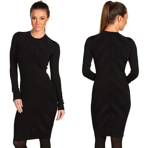 French Connection scuba stretch dress