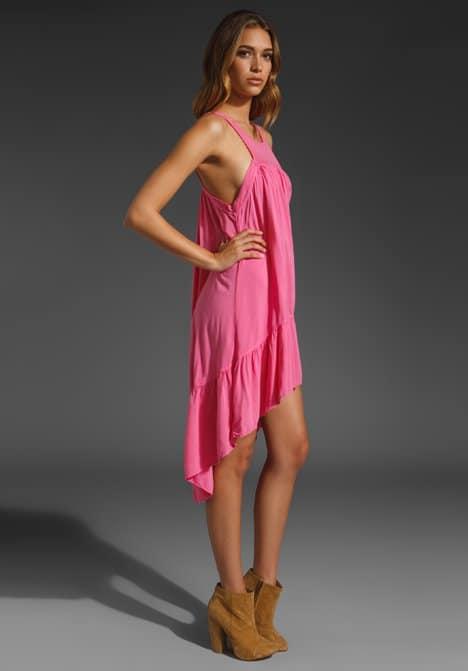Vanessa Hudgens Wears Local Celebrity 'Windsong' Dress