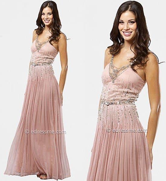 Powder Pink Wedding Dresses: 10 Pink Wedding Dresses A La Jessica Biel's Pink Wedding Gown