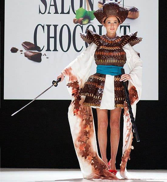 Chocolate armor and headdress