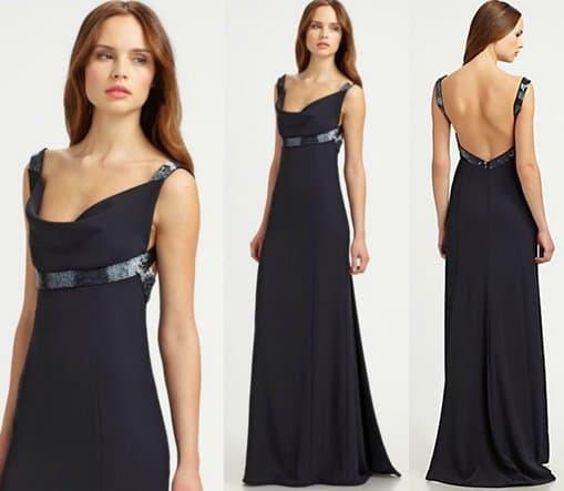 Armani Collezioni Beaded Gown
