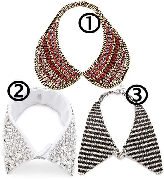 3 collar necklaces