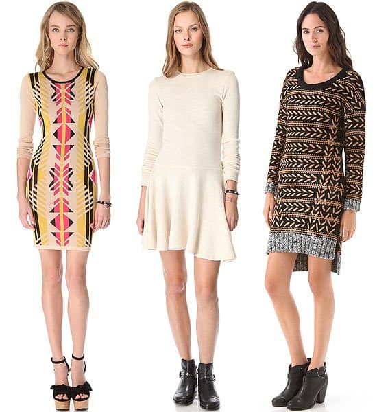 Sweater dresses 1