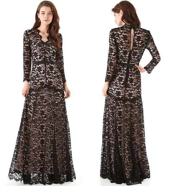 Temperley London 'Amoret' lace gown</a>,  $2,796.50
