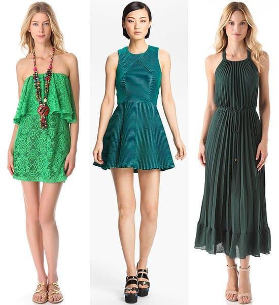 Energizing day dresses