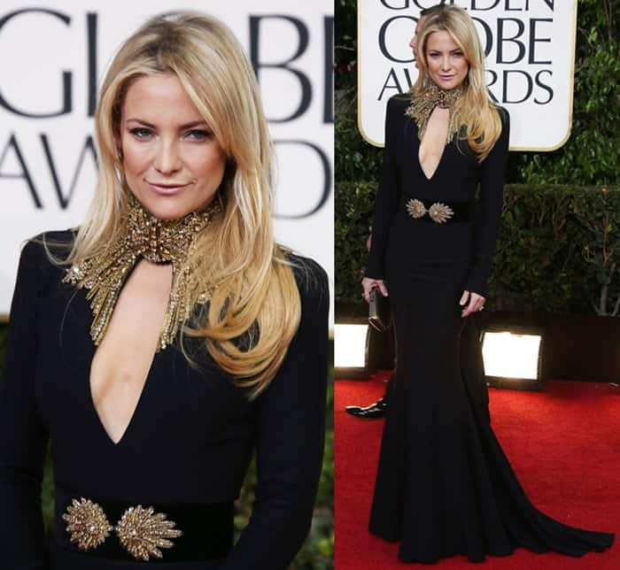 Kate Hudson at the 70th Annual Golden Globe Awards held at the Beverly Hilton Hotel