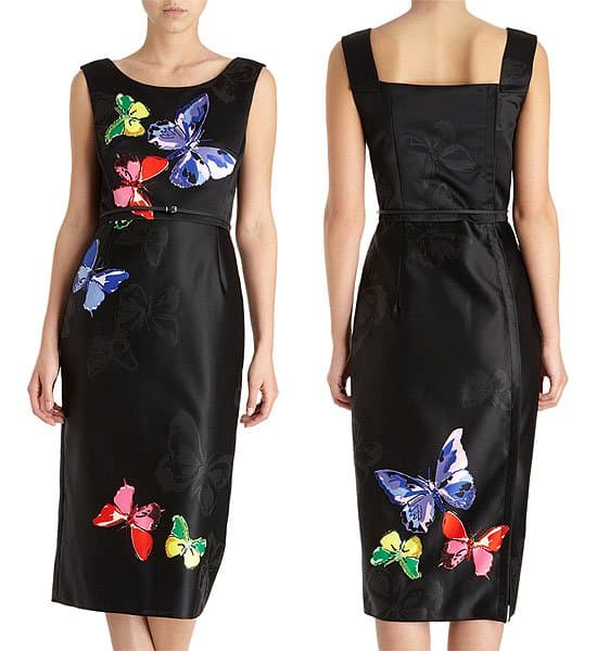 Marc Jacobs butterfly dress