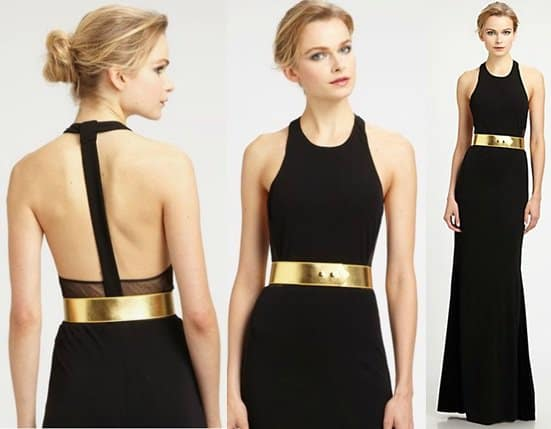 ABS Belted Gown