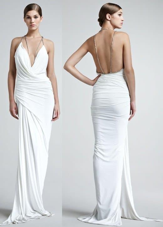 Donna Karan Superfine Jersey Gown