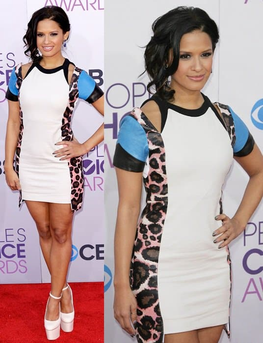 rocsi diaz peoples choice awards jan 9