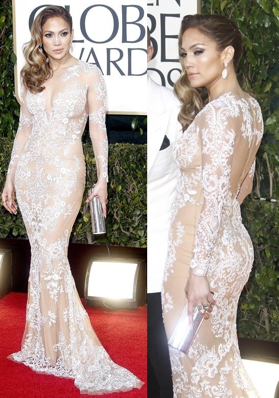 jennifer lopez golden globe awards jan 13