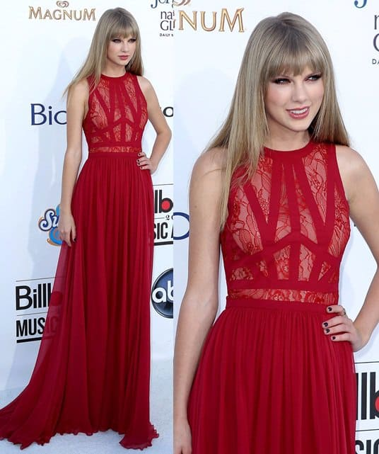 taylor swift attends the 2012 billboard awards may 20