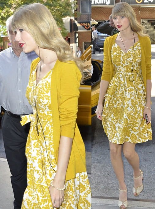 taylor swift heads to her hotel in new york oct 22