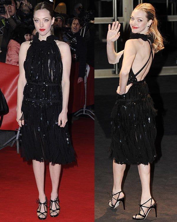 Amanda Seyfried in Nina Ricci Spring 2013 Dress
