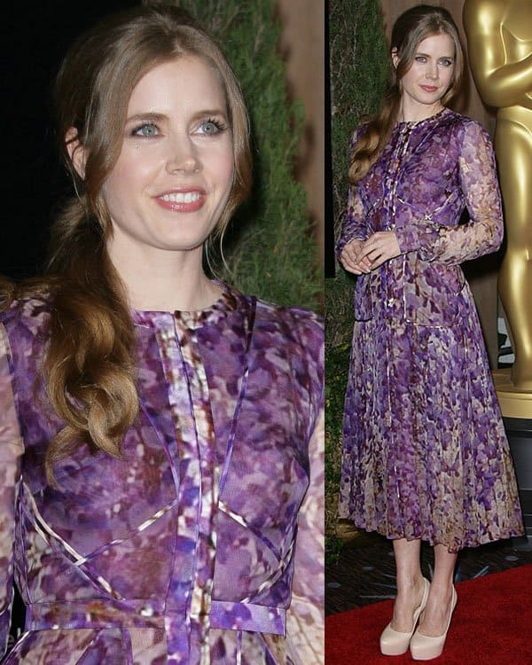 Amy Adams at the 85th Academy Awards Nominees Luncheon held at Beverly Hilton Hotel