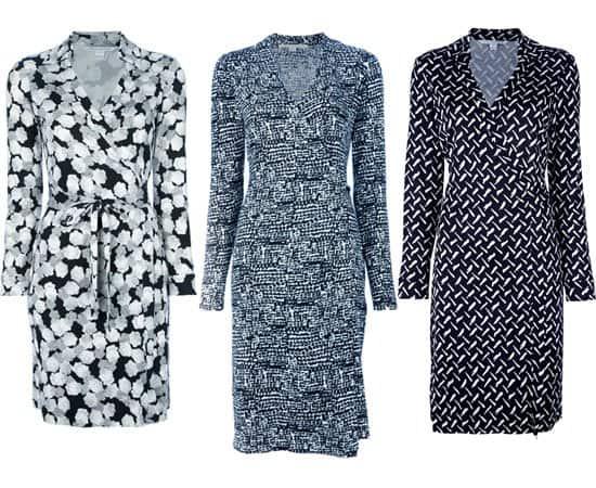 Diane von Furstenberg wrap dresses