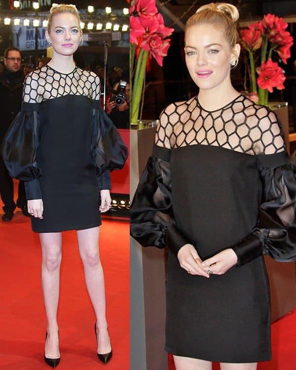 Emma Stone at 63rd Berlin International Film Festival (Berlinale) - The Croods - Premiere