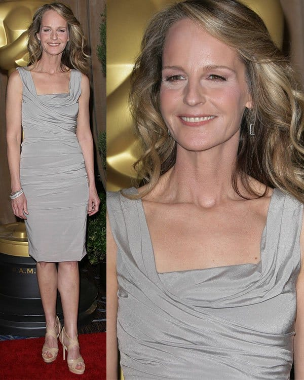 Helen Hunt at the 85th Academy Awards Nominees Luncheon held at Beverly Hilton Hotel