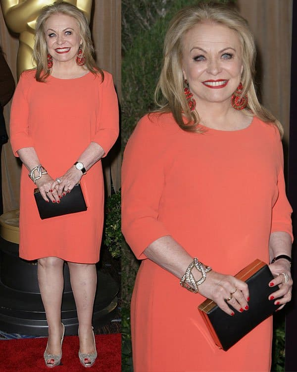 Jacki Weaver at the 85th Academy Awards Nominees Luncheon held at Beverly Hilton Hotel