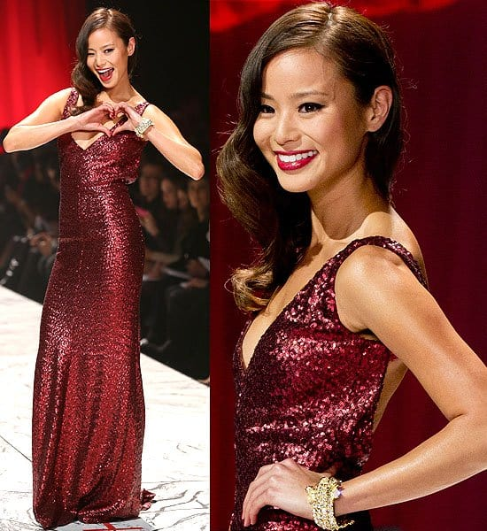 Jamie Chung The Heart Truth's Red Dress Collection