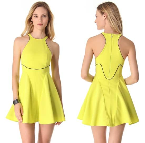 Just Cavalli - Racer Back Piped Dress
