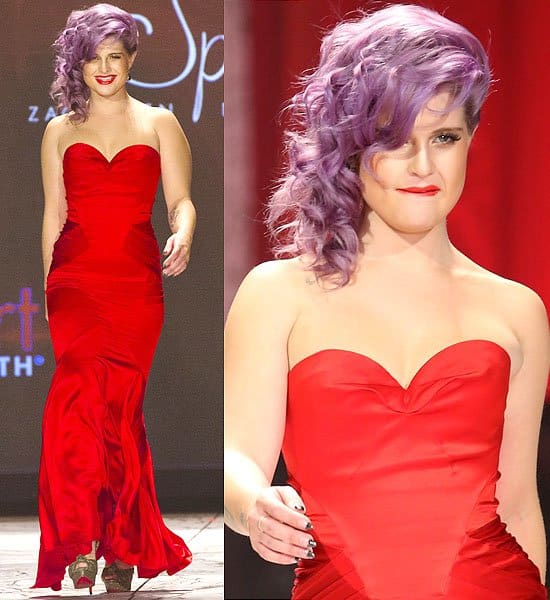 Kelly Osbourne The Heart Truth's Red Dress Collection