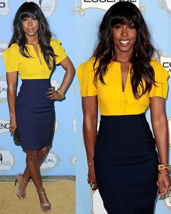 Kelly Rowland at the 6th Annual Essence Black Women in Hollywood Luncheon