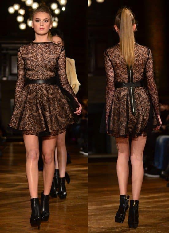 London Fashion Week - Autumn/Winter 2013 - Kristian Aadnevik - Catwalk