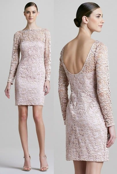 Long Sleeve Lace by Aidan Mattox-horz
