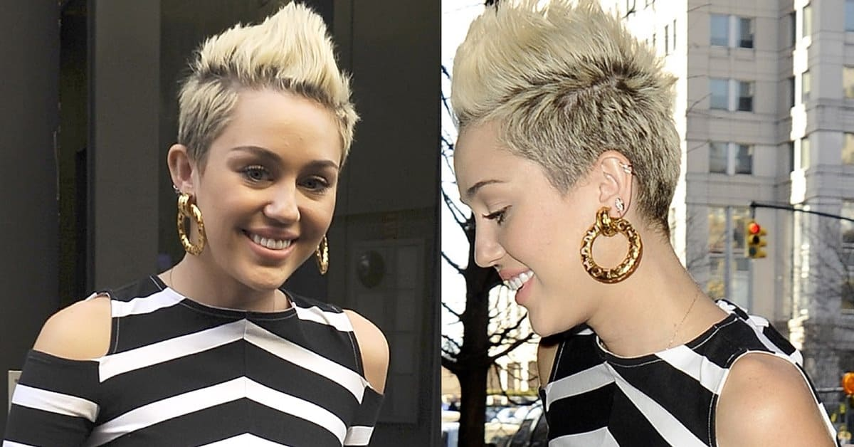 Miley Cyrus In Striped Prison Maxi Dress For Valentine S Day