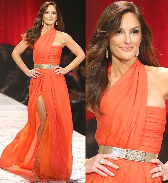 Minka Kelly The Heart Truth's Red Dress Collection